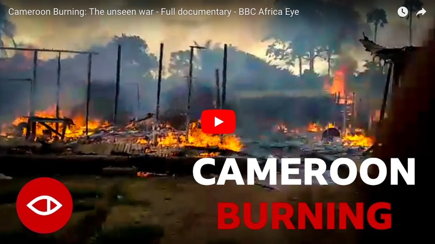 Burning Cameroon: Images you're not meant to see