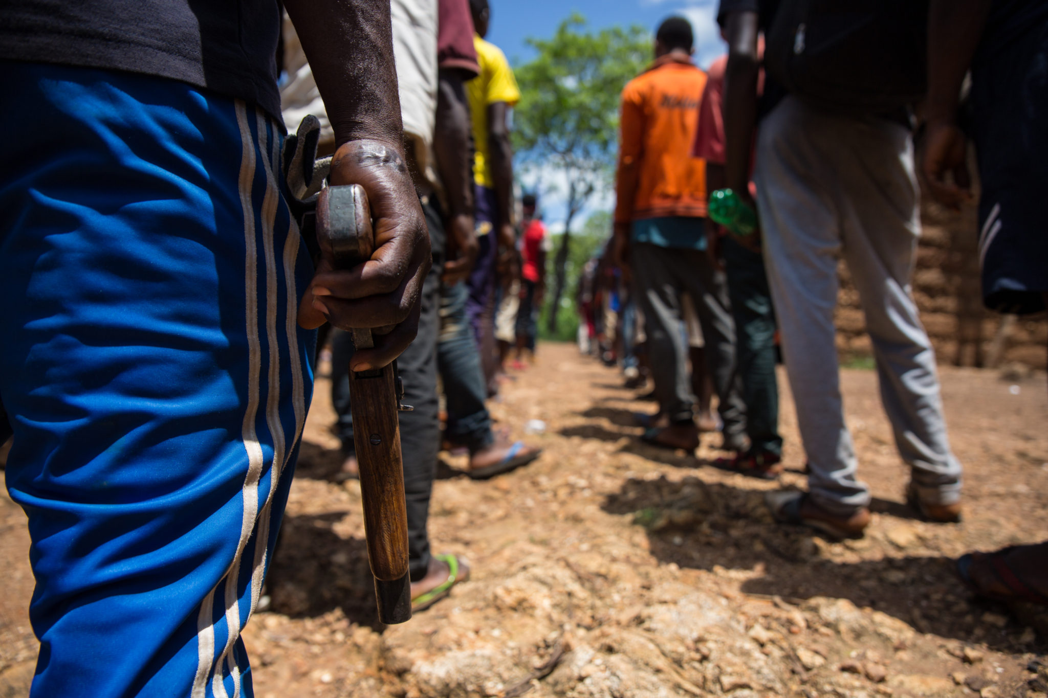 From farmers to fighters - an anglophone armed group