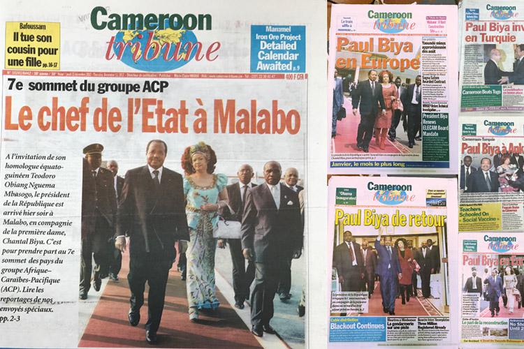 Paul Biya, Cameroon's Roaming President